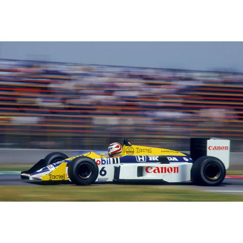 Product image for 1986 Piquet At Mexico City | Getty Images | Premium print