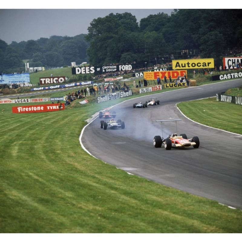 Product image for 1968 Oliver Leads Siffert | Getty Images | Premium print