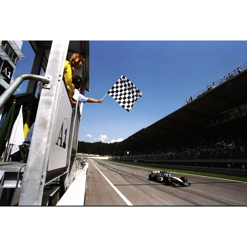 Product image for 1998 Mika Hakkinen | Getty Images | Premium print