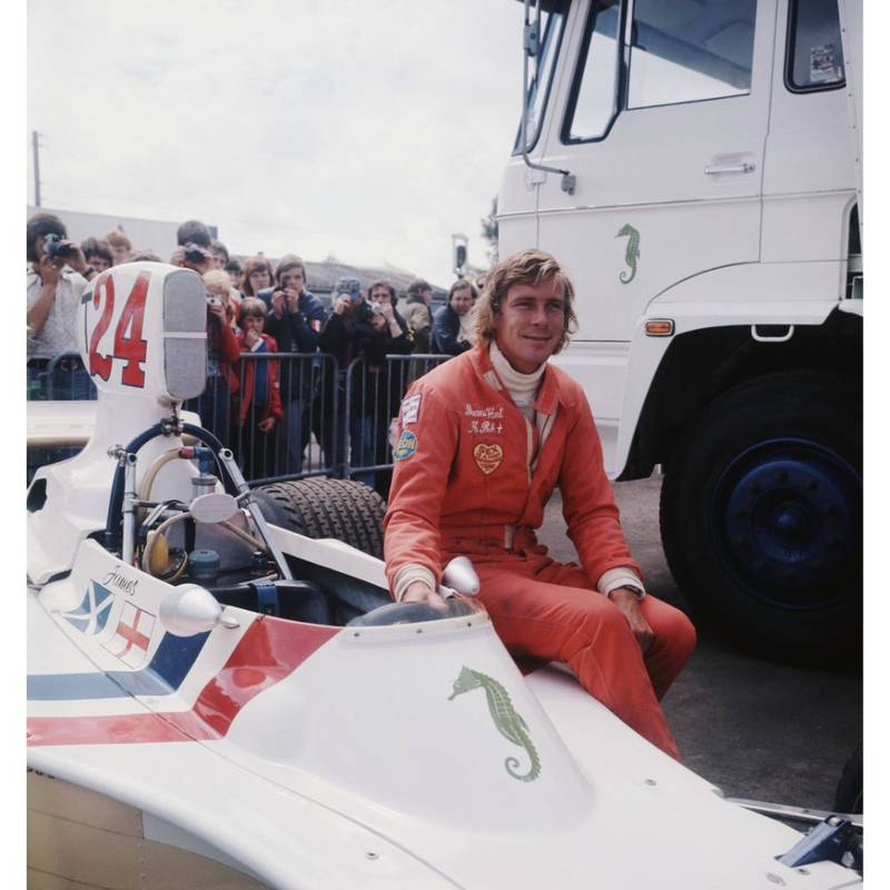 Product image for 1975 James Hunt | Getty Images | Premium print