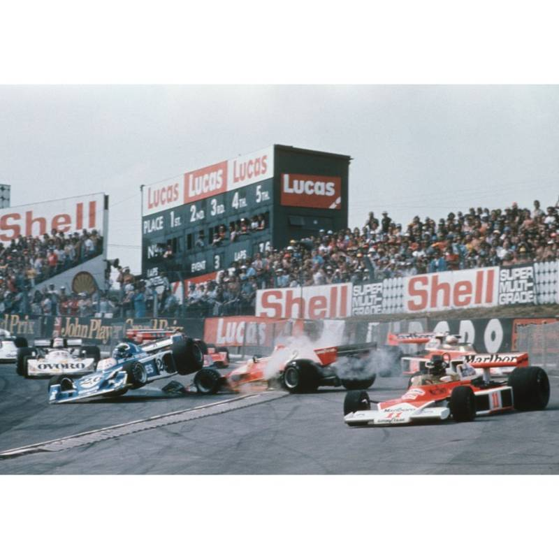 Product image for 1976 James Hunt | Getty Images | Premium print