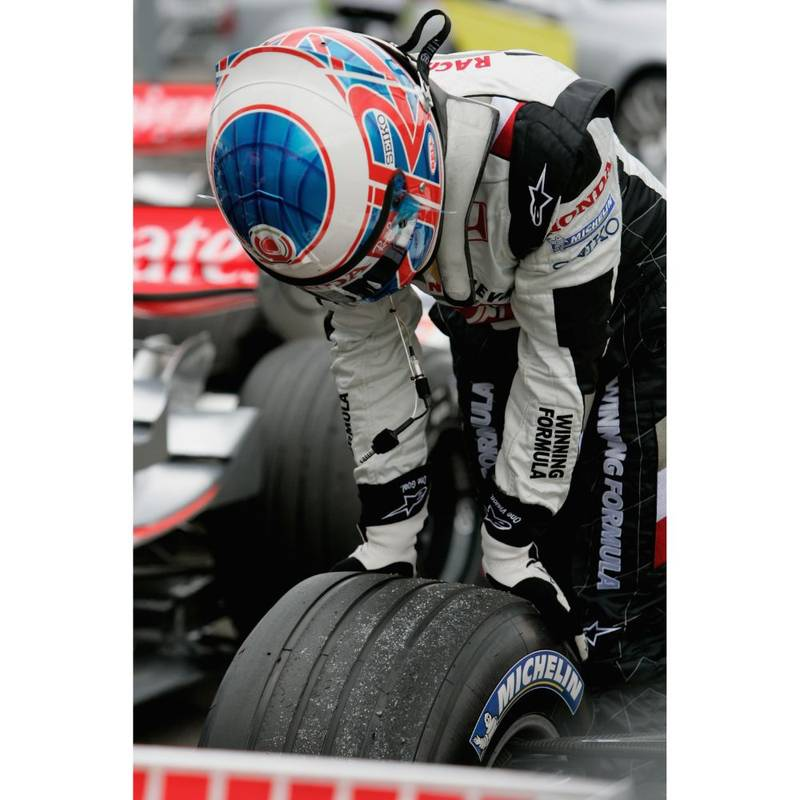Product image for Jenson F1 Grand Prix of Hungary – Qualifying | Getty Images | Premium print