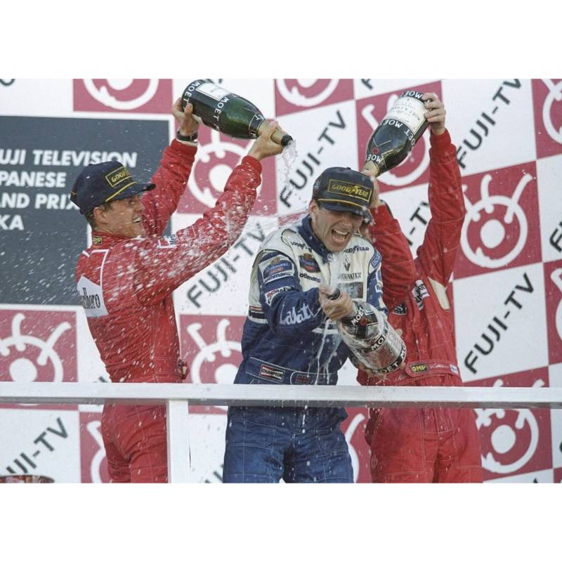 Product image for Damon Hill - Williams Renault | Getty Images | Premium print