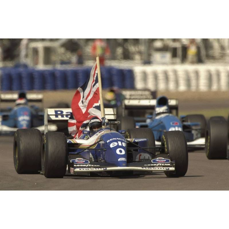 Product image for 1994 Damon Hill | Getty Images | Premium print