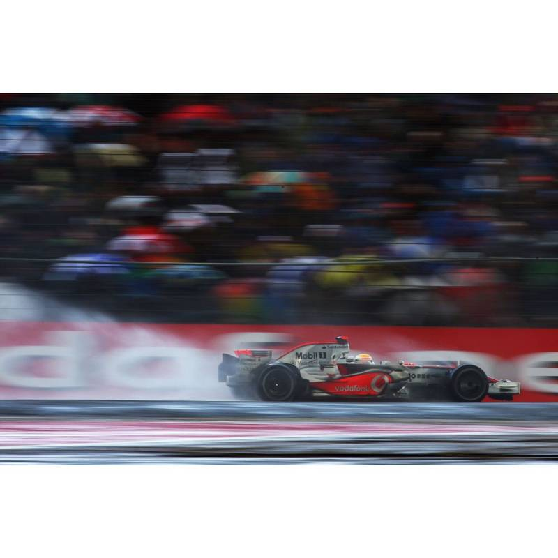 Product image for 2008 British Formula One Grand Prix: Race | Getty Images | Premium print