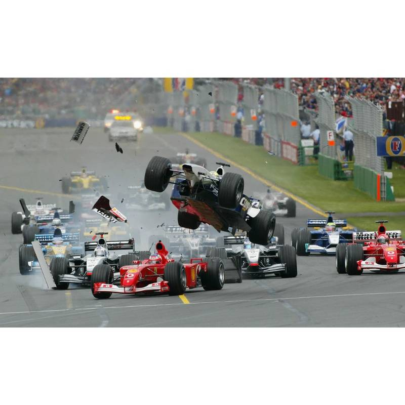 Product image for 2002 Australian F1 GP | Getty Images | Premium print