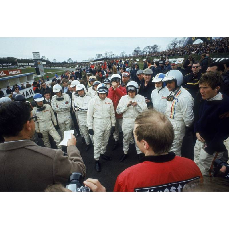 Product image for 1968 British Grand Prix | Getty Images | Premium print