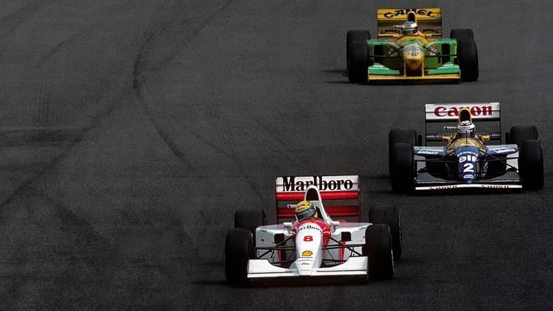 Ayrton Senna, Alain Prost, Michael Schumacher, 1993 SA GP