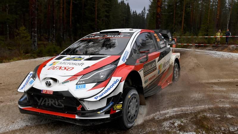 Elfyn Evans, 2020 Rally Sweden