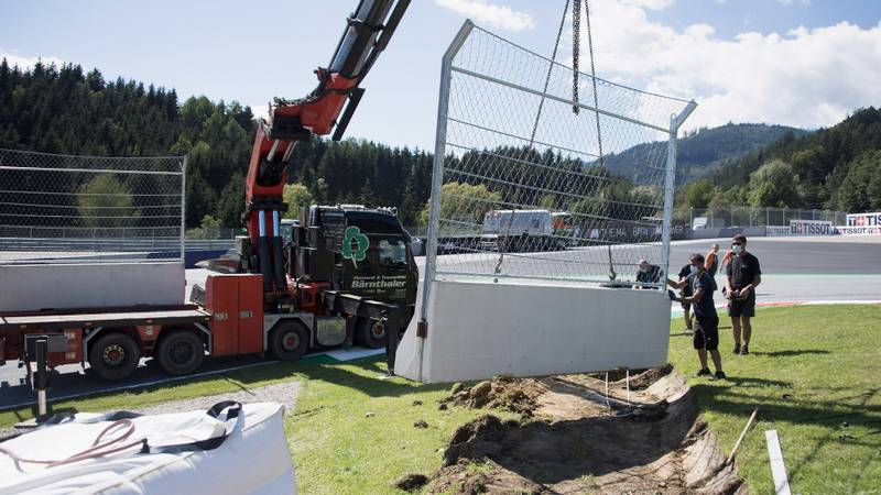Red Bull Ring installs Turn 3 barriers after MotoGP near-miss