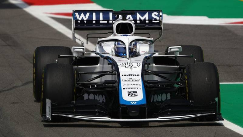 Nicholas Latifi, 2020 Spanish GP