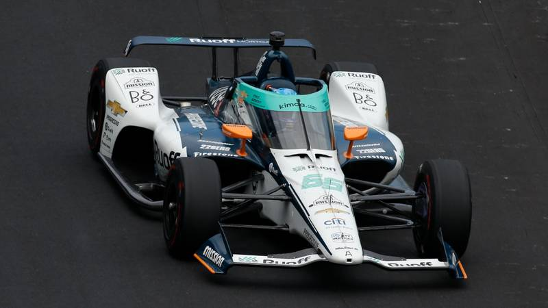 Fernando Alonso, 2020 Indy 500
