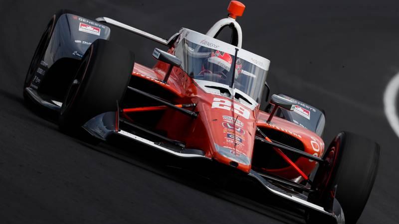James Hinchcliffe, 2020 Indy 500