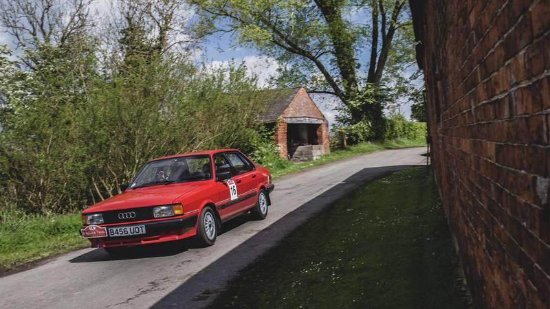 Audi Novice rally