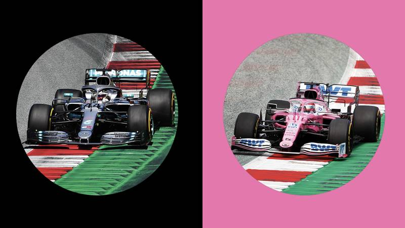 Racing Point header