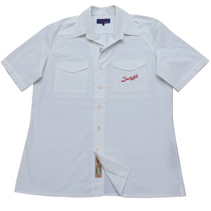 Product image for Brescia | Shirt - White | Suixtil