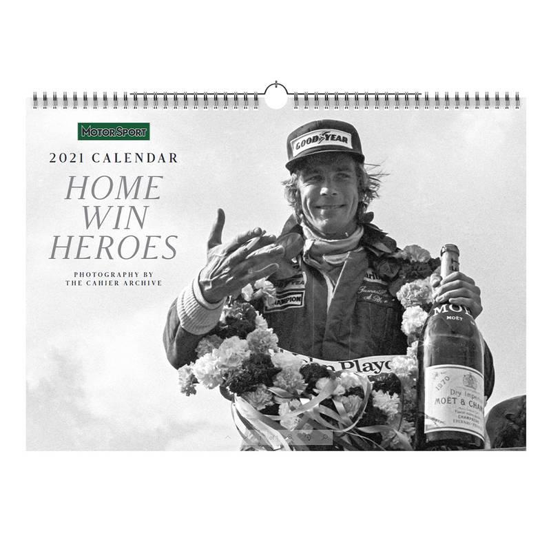 Product image for Home Wins   Motor Sport - 2021   Calendar