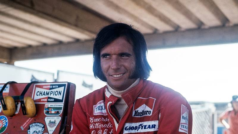 The first Brazilian to blaze a trail in F1: Emerson Fittipaldi