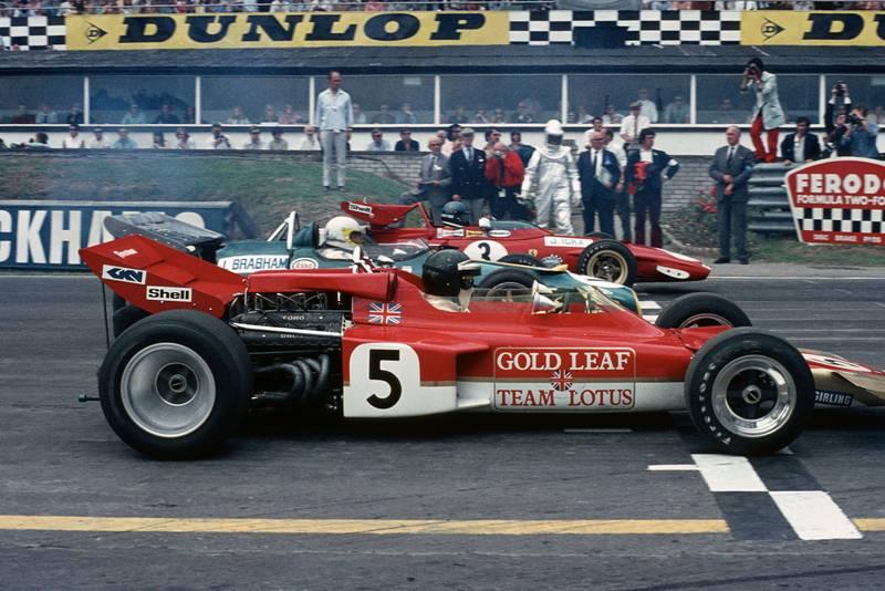 Jochen Rindt Jack Brabham Jacky Ickx British grand Prix Brands Hatch