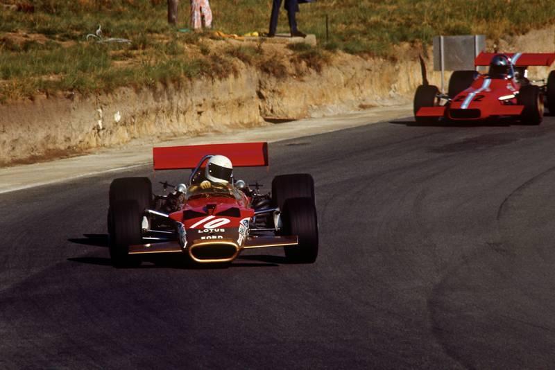 Lotus' Jochen Rindt 1970 South African Grand Prix Kyalami