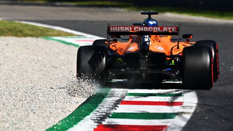 Carlos Sainz, 2020 Italian GP
