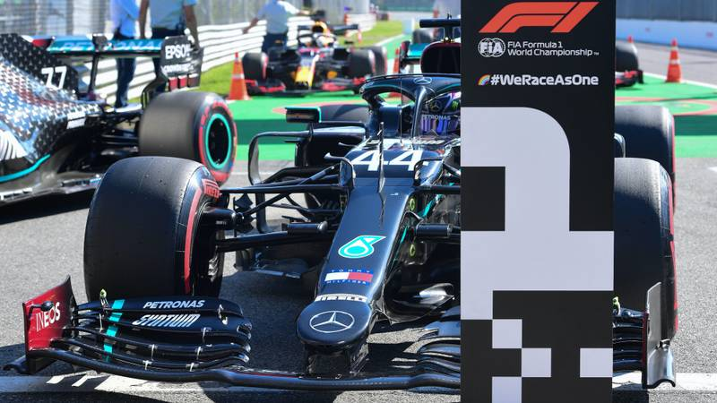 2020 F1 Italian Grand Prix Qualifying Report Hamilton Claims Another Record Motor Sport Magazine