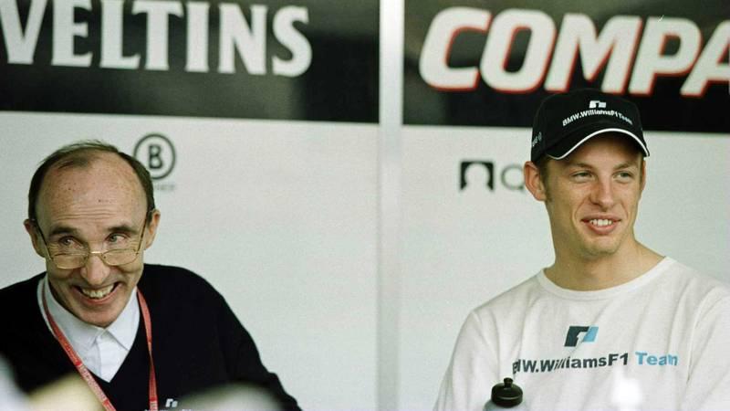 Frank Williams, Jenson Button, Williams BMW 2000