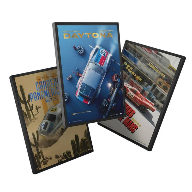 Product image for Porsche - The Past Collection - 3 Posters | Automobilist | Collector's Edition poster