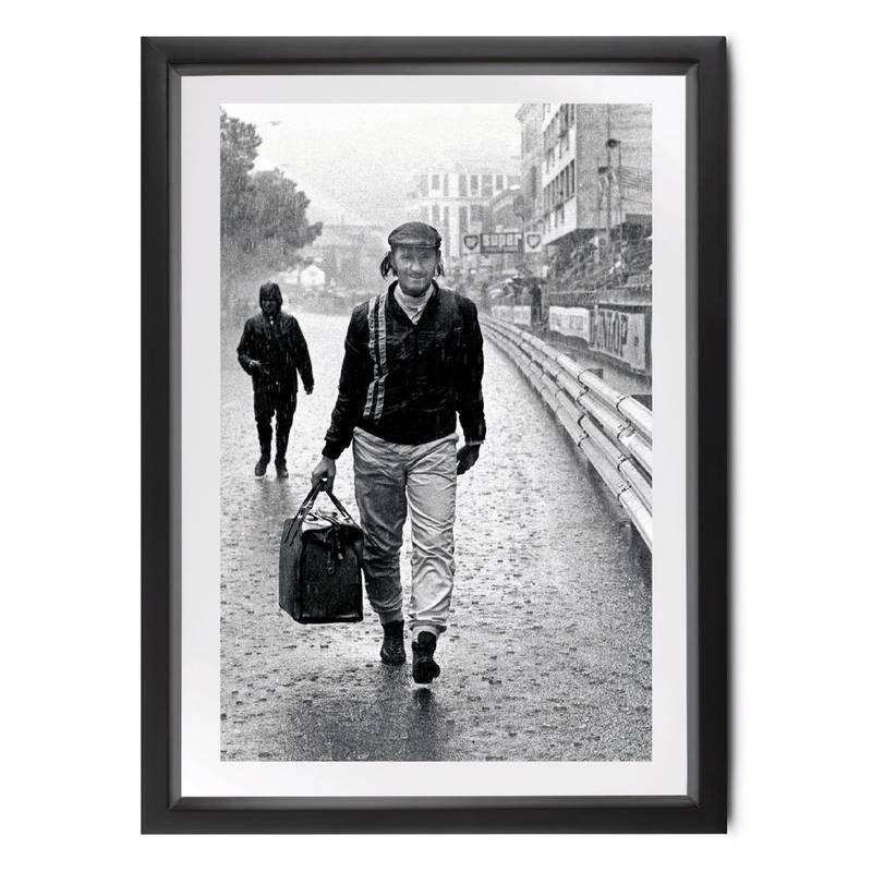 Product image for Graham Hill | Monaco 1971 | Michael Hewett | signed Michael Hewett | Photographic print