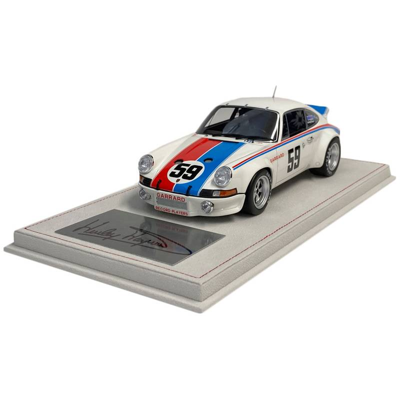 Product image for Porsche Carrera RSR | 1973 Daytons 24 winner | signed Hurley Haywood | 1:18 Model