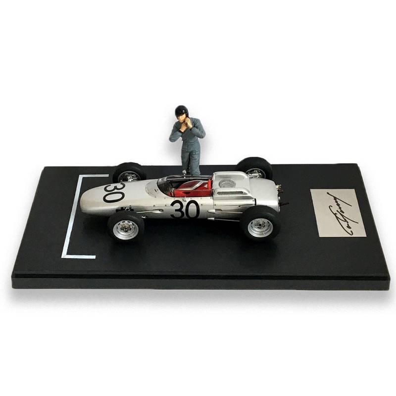 Product image for Porsche 804 F1 | Winner 1962 French GP | signed Dan Gurney | 1:18 Model
