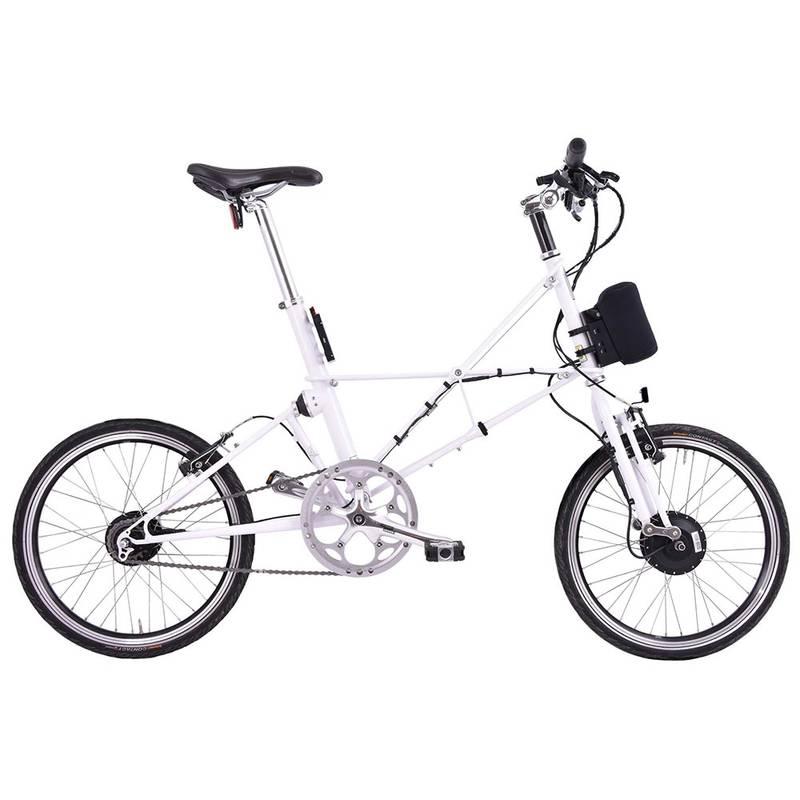 Product image for ARCC Moulton® TSR | White | Electric Bike