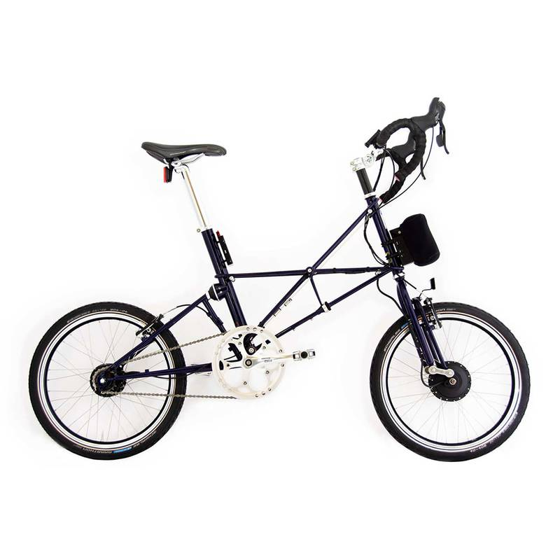 Product image for ARCC Moulton® TSR | Midnight Blue | Electric Bike