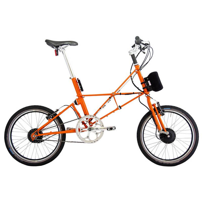 Product image for ARCC Moulton® TSR | Orange | Electric Bike