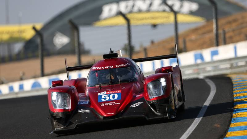 Richard Mille Women in Motorsport LMP2 car competing at the 2020 Le Mans 24 Hours