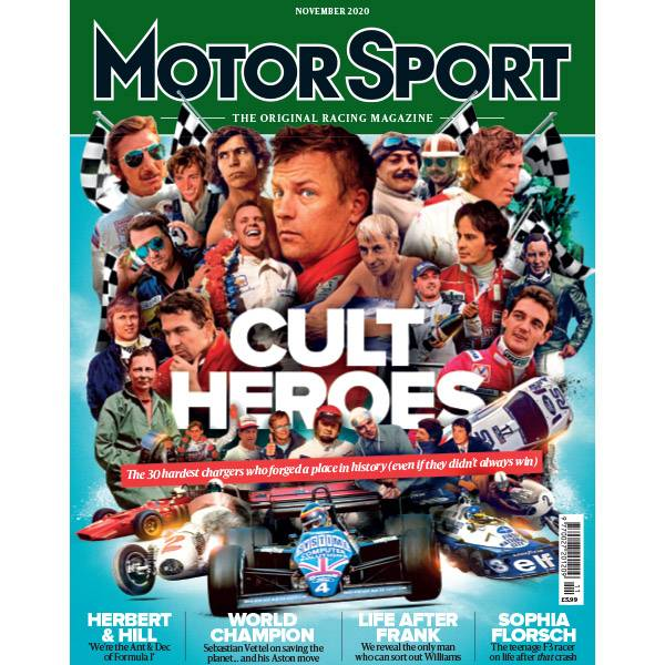 Product image for November 2020 | Cult Heroes | Motor Sport Magazine