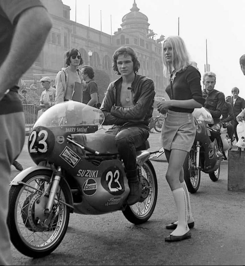 50 years ago today in Barcelona: Barry Sheene's GP debut