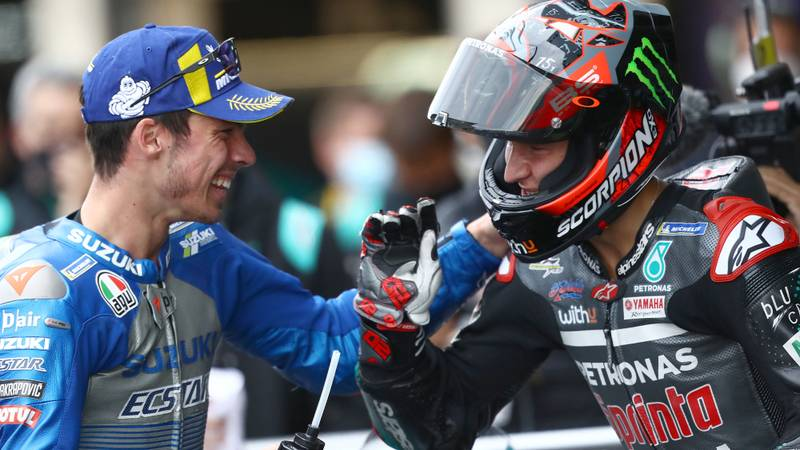 It's Suzuki and Yamaha for the MotoGP title – for the first time since Rainey and Schwantz