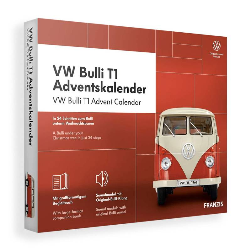 Product image for VW Bulli Camper Van | Advent Calendar | Christmas Gift