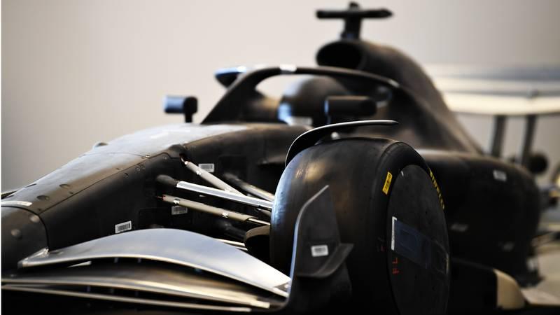 F1 2021 Car mock up