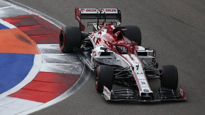 Kimi Raikkonen, 2020 Russian GP