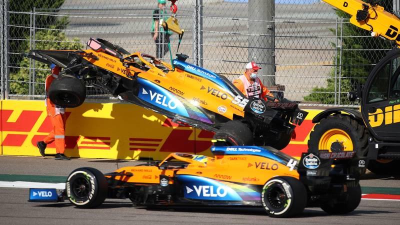 Carlos Sainz, 2020 Russian GP