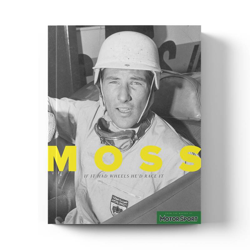 Product image for Stirling Moss: 'If It Had Wheels He'd Race It'  Motor Sport Magazine   Collector's Edition