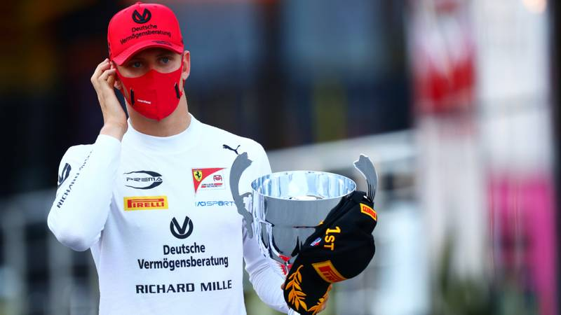 Mick Schumacher, 2020 F2 Monza feature race