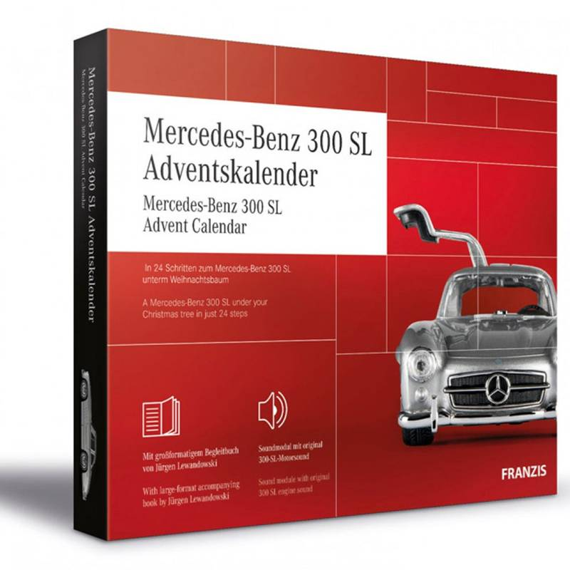 Mercedes-300-SL-advent-calendar