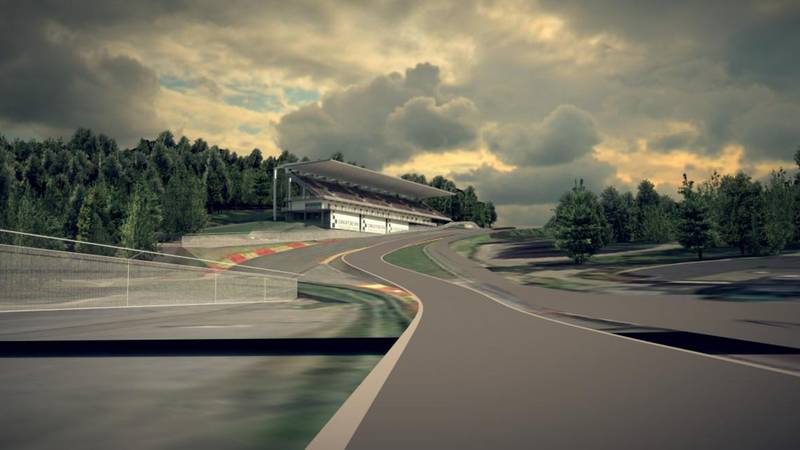 Eau Rouge and Raidillon future layout