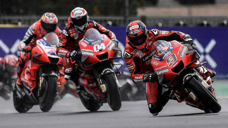 Why MotoGP's V4s dominated rain-lashed Le Mans