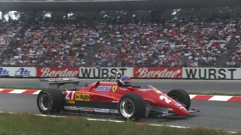 Patrick Tambay, 1982 German GP