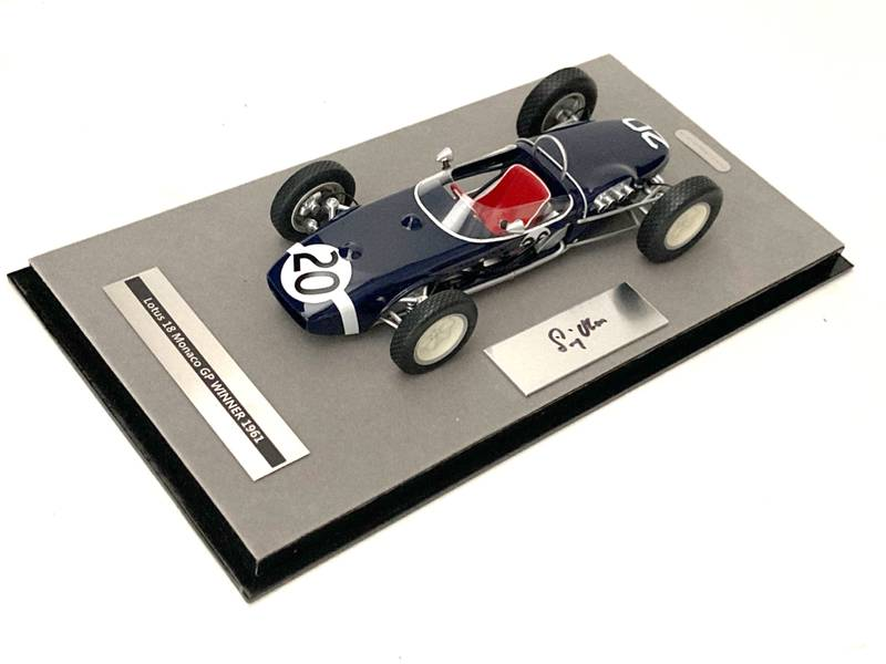 Product image for Lotus 18 | 1961 Monaco win | signed Stirling Moss | 1:18 model