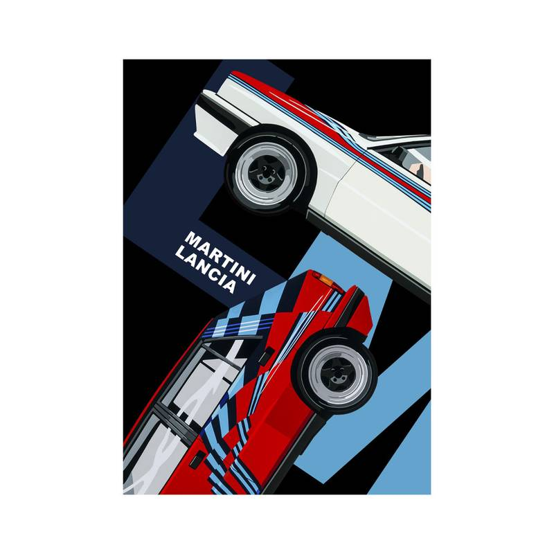 Product image for Martini Lancia | Joel Clark | poster-print